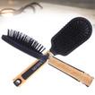 Δημιουργικός ξύλινη λαβή λαβή Μαύρο Χονδρικό μασάζ Μικρό Καθρέφτης & Χτένα