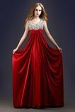 Λαιμόκοψη V Ελαστικό σατέν Δαντέλα-επάνω Βραδινά φορέματα