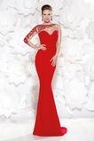 Ασύμμετρα μανίκια Διακοσμητικά Επιράμματα Βραδινά φορέματα
