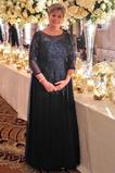 Μητέρα φόρεμα Τούλι Φερμουάρ επάνω Μέχρι τον αστράγαλο Γραμμή Α Επίσημη