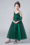 Γραμμή Α κούνια Φυσικό Τόξο Χάνει Αμάνικο Λουλούδι κορίτσι φορέματα