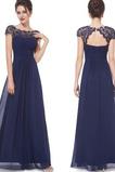 Δαντέλα επικάλυψης Προσαρμοσμένες μανίκια Βραδινά φορέματα