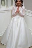 Λουλούδι κορίτσι φορέματα Δαντέλα Δαντέλα επικάλυψης Κόσμημα Φερμουάρ επάνω Επίσημη