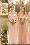 Τιράντες σπαγγέτι Σιφόν Αμάνικο Αντικείμενα που έχουν συλλεχθεί Παράνυμφος φορέματα