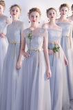 Δαντέλα επικάλυψης Χάνει Πολυτελές Ψευδαίσθηση Παράνυμφος φορέματα