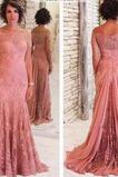 Μητέρα φόρεμα Μακρύ Φυσικό Κοντομάνικο Χάνει Κομψό & Πολυτελές Άνοιξη