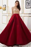 Κόσμημα Γραμμή Α Κλεψύδρα Πολυτελές Κοντομάνικο Βραδινά φορέματα