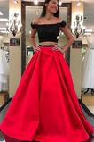 Δαντέλα Φερμουάρ επάνω Χειμώνας Σατέν Έτος 2020 Μπάλα φορέματα