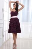 Φυσικό Μέχρι το Γόνατο αγαπημένος Σιφόν Καλοκαίρι Παράνυμφος φορέματα