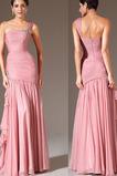 Αμάνικο Χαμηλή Μέση Ένας Ώμος Φερμουάρ επάνω Βραδινά φορέματα