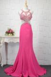 Γραμμή Α Κόσμημα τονισμένο μπούστο Φυσικό Μπάλα φορέματα