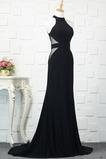 Αμάνικο Πολυτελές βλέπω μέσω Άνοιξη Φυσικό Βραδινά φορέματα