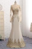 Ρετρό Χαμηλή Μέση Ελαστικό σατέν Γοργόνα Βραδινά φορέματα