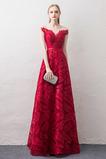 Βραδινά φορέματα Σέσουλα Γραμμή Α Δαντέλα επικάλυψης Δαντέλα-επάνω Καλοκαίρι