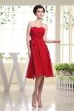Τόξο άτυπος Αμάνικο Φερμουάρ επάνω Φυσικό Παράνυμφος φορέματα