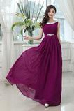 Κομψό Σέσουλα Ντραπέ Τραίνο σκουπισμάτων Παράνυμφος φορέματα