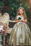 Λουλούδι κορίτσι φορέματα Έτος 2019 Κόσμημα Τονισμένα τόξο Τόξο εξώπλατο Άνοιξη