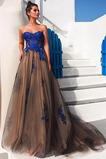 Αμάνικο Τούλι αγαπημένος Διακοσμητικά Επιράμματα Βραδινά φορέματα