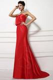 Χειμώνας καπίστρι Δαντέλα-επάνω Μακρύ Επίσημη Βραδινά φορέματα