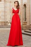 Φθινόπωρο Σιφόν Λαιμόκοψη V Έτος 2020 Γραμμή Α Μπάλα φορέματα