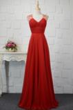 Σιφόν Γραμμή Α Χάντρες Φυσικό Επίσημη Καθαρή πλάτη Βραδινά φορέματα