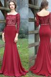 Επίσημη Θήκη Φερμουάρ επάνω Τετράγωνο Ψευδαίσθηση Βραδινά φορέματα