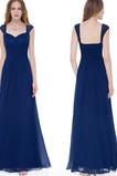 Δαντέλα επικάλυψης Ευρεία λουριά Προσαρμοσμένες μανίκια Βραδινά φορέματα