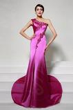 Μικρό Φυσικό Αμάνικο Ένας Ώμος Γοργόνα Μακρύ Βραδινά φορέματα