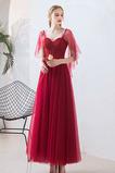 Δαντέλα επικάλυψης Χάνει Πολυτελές αγαπημένος Βραδινά φορέματα