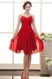 Μέχρι το Γόνατο Γραμμή Α απλός Τιράντες σπαγγέτι Παράνυμφος φορέματα