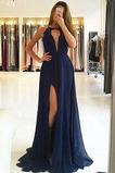 Δαντέλα Σιφόν Μακρύ Καλοκαίρι Μικρό εξώπλατο Μπάλα φορέματα