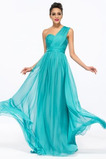 Τα μέσα πλάτη Σιφόν Φυσικό Αμάνικο Φθινόπωρο Βραδινά φορέματα