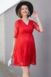 Κομψό Φυσικό Δαντέλα Ντραπέ Δαντέλα επικάλυψης Βραδινά φορέματα