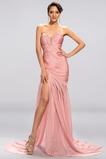 εξώπλατο Φυσικό Πλισέ Μικρό Άνοιξη Σιφόν Βραδινά φορέματα