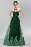 Φερμουάρ επάνω αγαπημένος Φυσικό Δαντέλα Μπάλα φορέματα