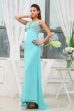 εξώπλατο Πολυτελές Πλισέ Αμάνικο Ευρεία λουριά Βραδινά φορέματα
