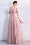 Πολυτελές Κοντομάνικο Κοντομάνικο Γραμμή Α Παράνυμφος φορέματα