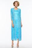Το μήκος τσάι Άνοιξη Γραμμή Α Πολυτελές Φυσικό Μητέρα φόρεμα