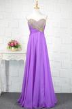 Φερμουάρ επάνω αγαπημένος σικ Σιφόν Κόσμημα τονισμένο μπούστο Βραδινά φορέματα