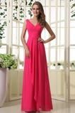Βαθιά v-λαιμός Χειμώνας Παραλία Λαιμόκοψη V Παράνυμφος φορέματα