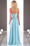 Ασύμμετρη Στράπλες Φυσικό Πολυτελές Οι πτυχωμένες μπούστο Παράνυμφος φορέματα