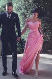 Φερμουάρ επάνω Φυσικό Από τον ώμο Προσαρμοσμένες μανίκια Βραδινά φορέματα