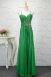 Φυσικό Οι πτυχωμένες μπούστο Τιράντες σπαγγέτι Βραδινά φορέματα