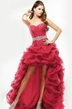 Χαμηλή Μέση Χάντρες Αμάνικο Ρομαντικό υψηλή Χαμηλή Μπάλα φορέματα