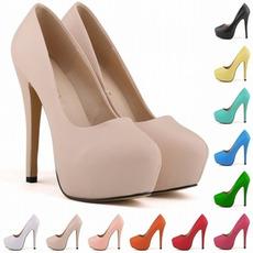 14 εκατοστά υψηλό τακούνι μόδας στυλ αδιάβροχο παπούτσια γάμου