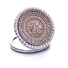 Κορυφαίας ποιότητας Κύκλο Σταυρός Μέταλλο ένθετο διαμάντι Διαφήμιση Μικρές Καθρέφτης & Χτένα