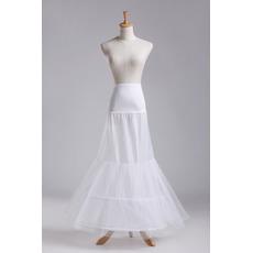 Διπλό νήμα Δύο στεφάνια Νυφικό φόρεμα Μοντέρνο Μεσοφόρι γάμου