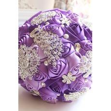 Μοβ διαμάντι μαργαριτάρι γάμος γαμήλια φωτογραφία διάταξη διακόσμηση λουλουδιών δημιουργική εκμετάλλευση