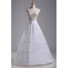 Περίμετρος Πρότυπο Πλήρες φόρεμα Ταφτάς πολυεστέρα Μεσοφόρι γάμου