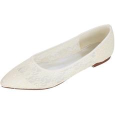 Διαφανές κούφια δαντέλα κομψό άντρες επίσημων γυναικών παπουτσιών γάμου
